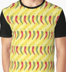 Chili Twist - Hot Pattern Graphic T-Shirt