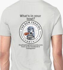 "RFC ""What's in your bowl?"" Borzoi logo shirts T-Shirt"