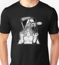 Guess Who # Devil # Creepy #Love with Devil # Death T-Shirt