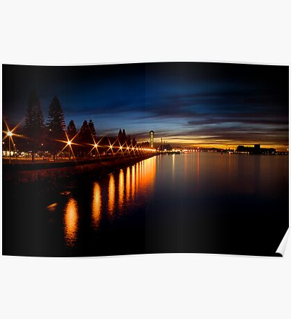 Newcastle Harbour I Poster