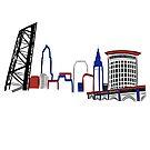 Cleveland Skyline Tribe  by rmcbuckeye