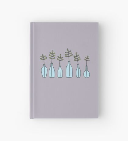 Glass Jars Hardcover Journal