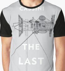 Cassini the last dive into Saturn Graphic T-Shirt