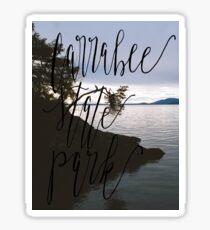 Larrabee State Park Sticker