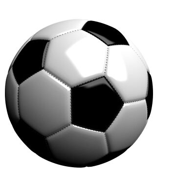 Soccer bal by serbandeira