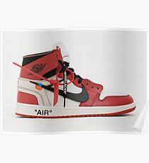Air Jordan 1, Off-White Poster