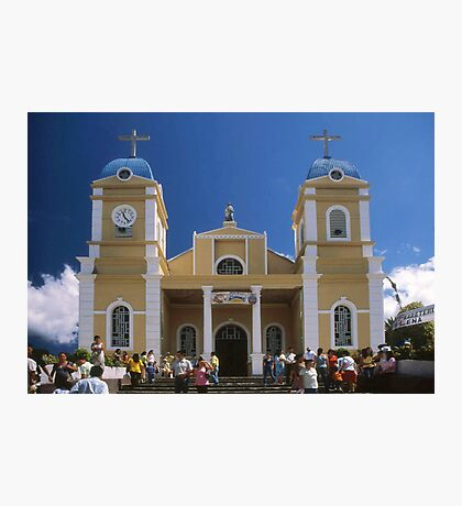 San Marcos Church, Tarrazu, Costa Rica Photographic Print