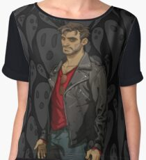 Dream Daddy: Robert Small Women's Chiffon Top