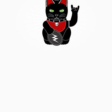 Lucky Rock Cat by Mungo