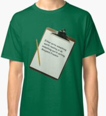 Either write something worth reading...... Classic T-Shirt