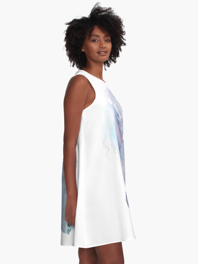 Alternate view of Mountain Dweller 8 A-Line Dress