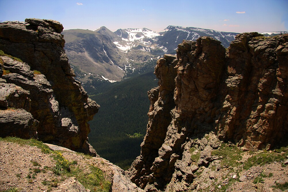 Rocky Mountain View by noffi