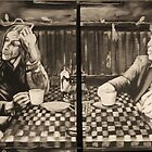 """iggy pop and tom waits,...""""coffee and cigarettes"""" by imajica"""
