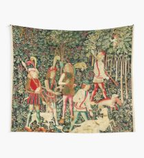 HD The Hunt of the Unicorn (1494 aprox) Wall Tapestry