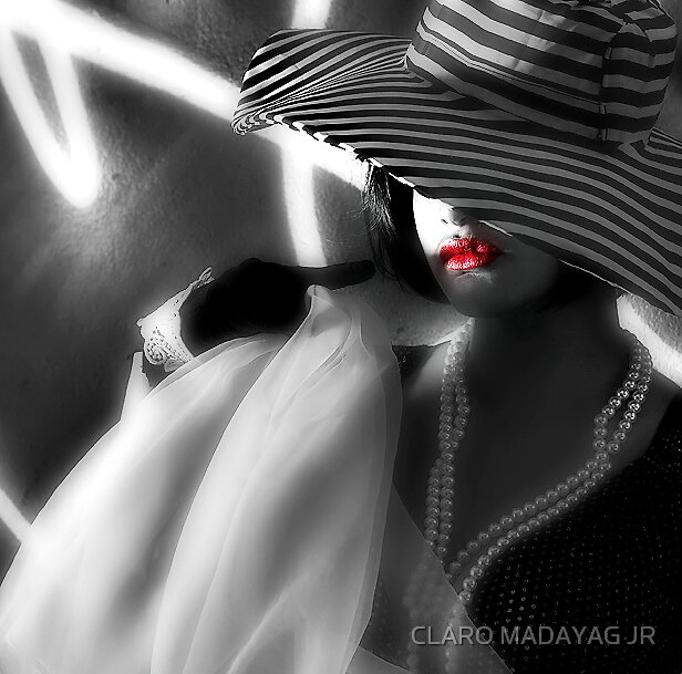 RED MY LIPS by CLARO MADAYAG JR