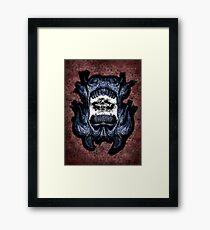 MonStar Spangled Framed Print