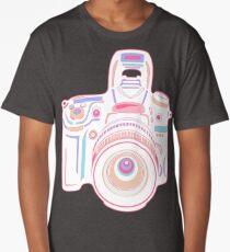 Cute Pastel Camera Long T-Shirt