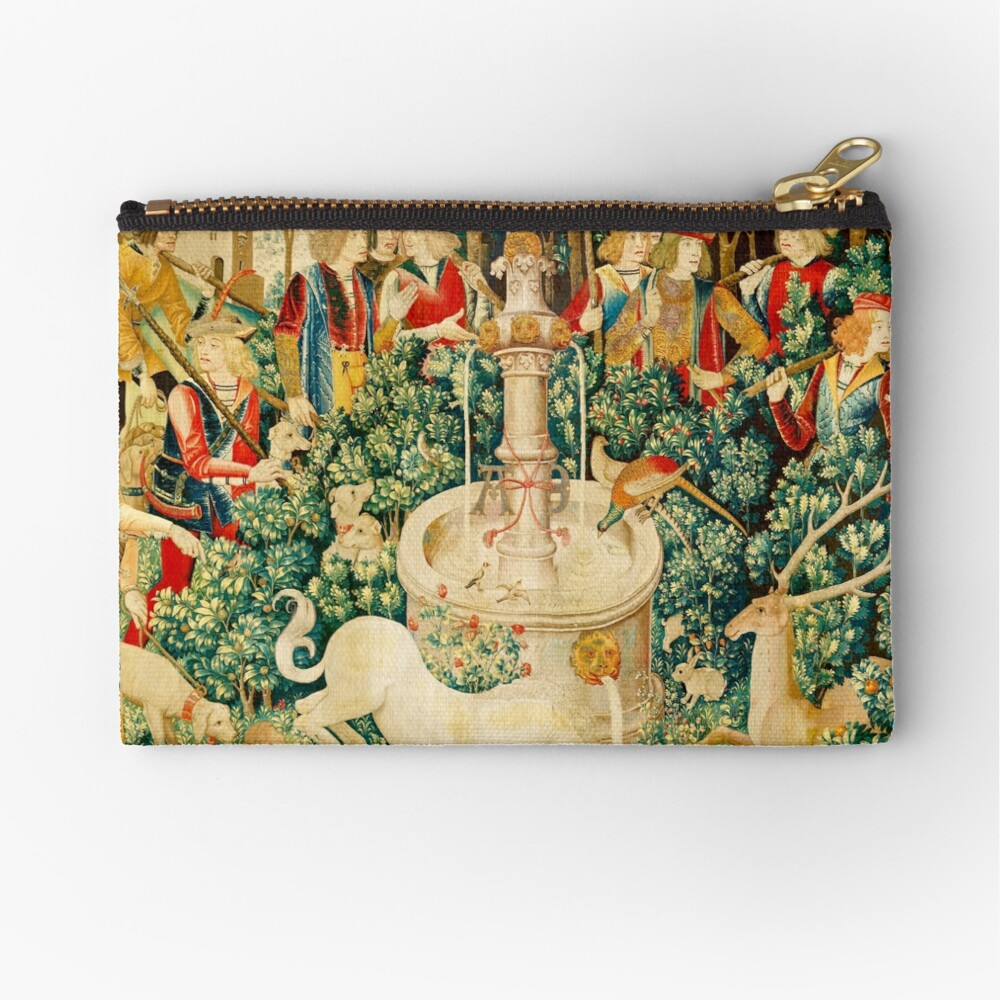 HD The Unicorn is Found (1495) Zipper Pouch