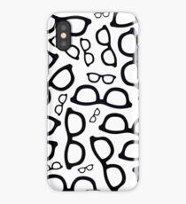 Smart Glasses Pattern iPhone Case/Skin