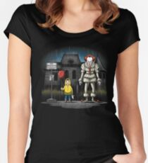 My Neighbor The Clown Women's Fitted Scoop T-Shirt
