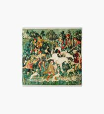 HD The Unicorn is Attacked (1495) Art Board
