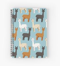 Alpacas Spiral Notebook
