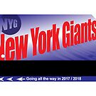 NY Giants Card by BDawg