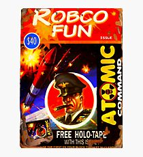 Fall Out 4 Robco Fun Comic Book / Atomic Command Edition Photographic Print