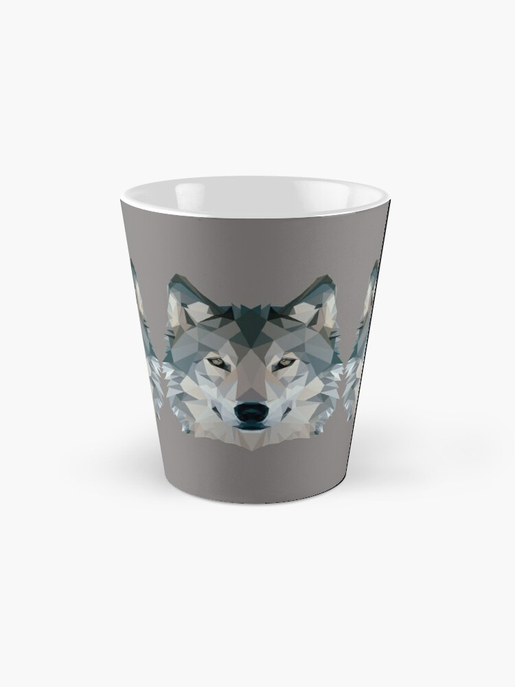 Alternate view of Wolf Mug