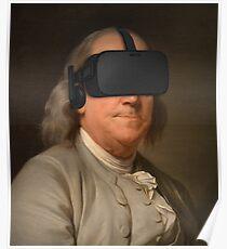 Benjamin Franklin VR Poster