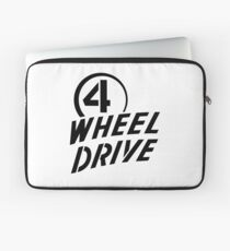 4 Wheel Drive! Laptop Sleeve