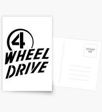 4 Wheel Drive! Postcards