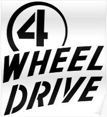 4 Wheel Drive! Poster
