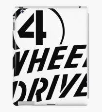 4 Wheel Drive! iPad Case/Skin