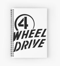4 Wheel Drive! Spiral Notebook