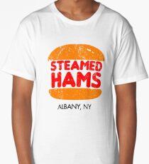 Retro Steamed Hams Long T-Shirt