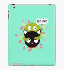 Bird and Cat Guess Who R3z9i iPad Case/Skin