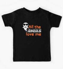All the ghouls love me! Kids Clothes