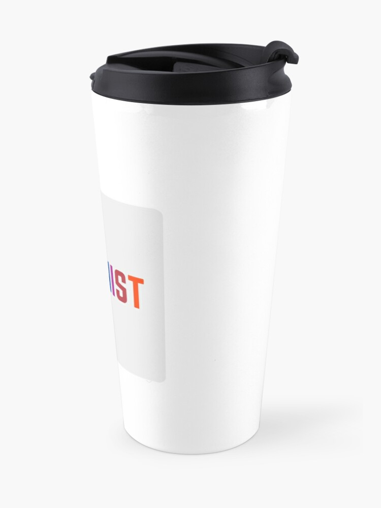 Alternate view of FEMINIST   Travel Mug
