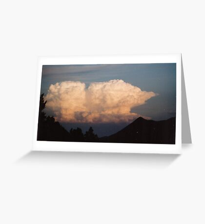 A Storm's Brewing Greeting Card
