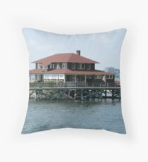 Casino in Portland, Maine Throw Pillow