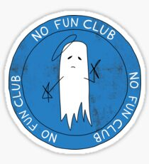 Boozey No Fun Club Sticker