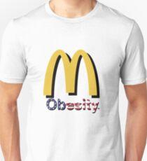 Mcdonalds Satire art T-Shirt