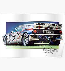Lancia 037 Group B Poster