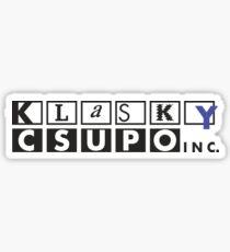 Klasky Csupo Logo Sticker