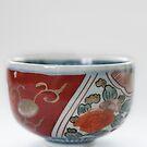 Japanese Imari Ware Tea Bowl by Skye Hohmann