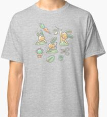 Sewing Bunnies - Yellow Classic T-Shirt