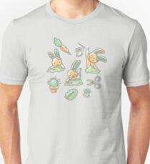 Sewing Bunnies - Yellow T-Shirt