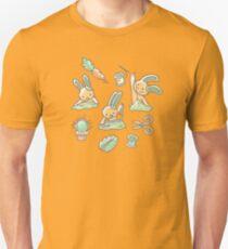 Sewing Bunnies - Yellow T-Shirt