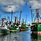 Fishing fleet....at Ishmael's Landing! by Poete100